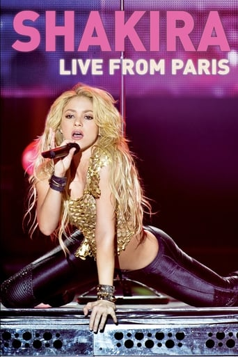 Shakira: Live from Paris - Poster