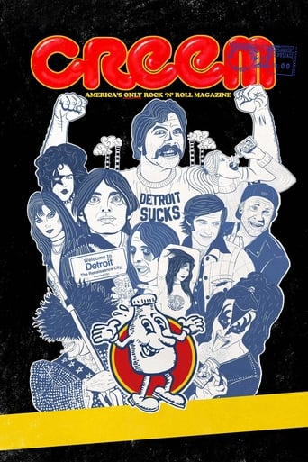 Poster of Creem: America's Only Rock 'n' Roll Magazine