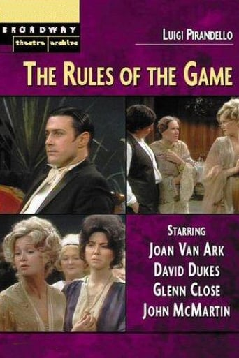 Poster of The Rules of the Game
