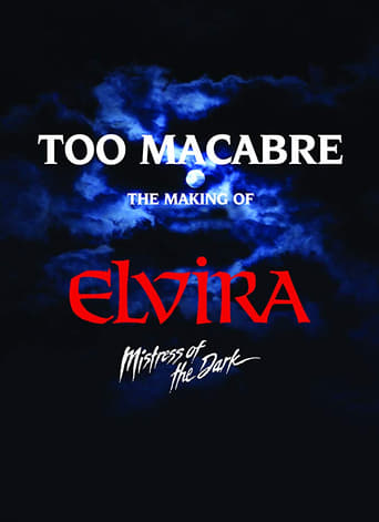 Poster of Too Macabre: The Making of Elvira, Mistress of the Dark