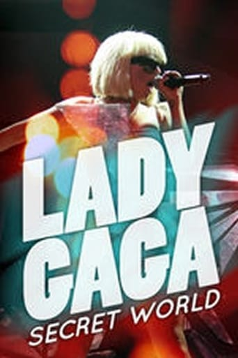 Poster of Lady Gaga's Secret World
