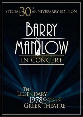 Poster of Barry Manilow in Concert: The Legendary 1978 Concert at the Greek Theatre