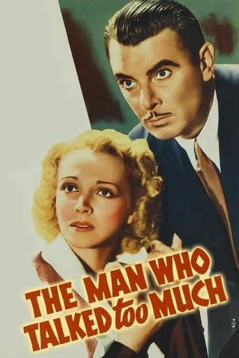 Poster of The Man Who Talked Too Much
