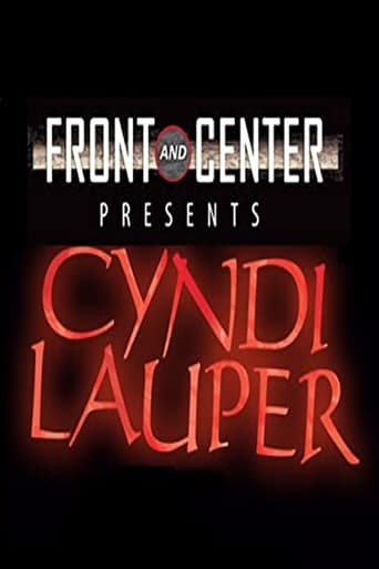 Poster of Cyndi Lauper: Front and Center Presents