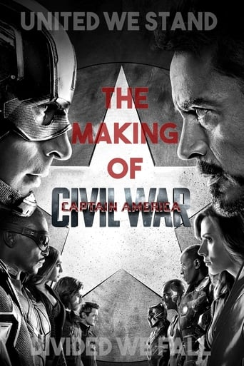 Poster of United We Stand, Divided We Fall: The Making of 'Captain America: Civil War'