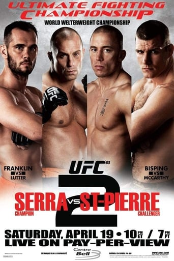 Poster of UFC 83: Serra vs St-Pierre 2
