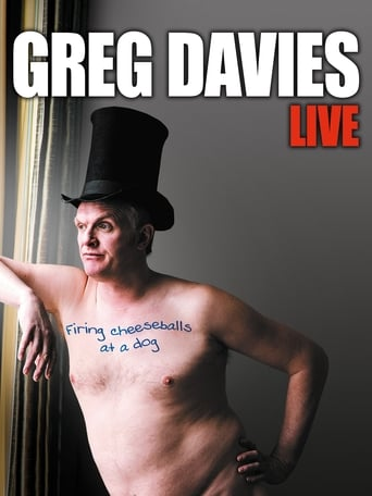 Poster of Greg Davies Live: Firing Cheeseballs at a Dog