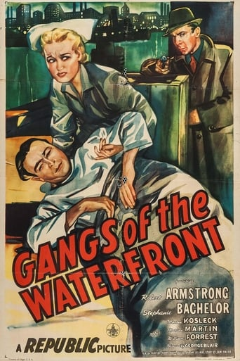 Poster of Gangs of the Waterfront
