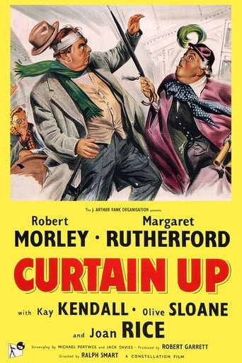 Poster of Curtain Up