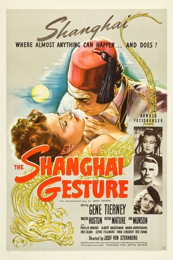 Poster of The Shanghai Gesture