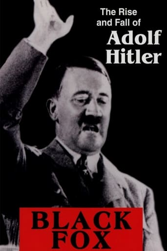 Poster of Black Fox: The Rise and Fall of Adolf Hitler