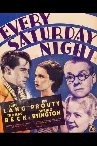 Poster of Every Saturday Night