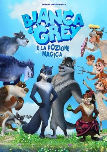 Cartoni animati Bianca & Grey e la pozione magica - ????? ? ????: ??-?-?-?????? ???????????
