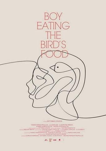 Το Αγόρι Τρώει το Φαγητό του Πουλιού