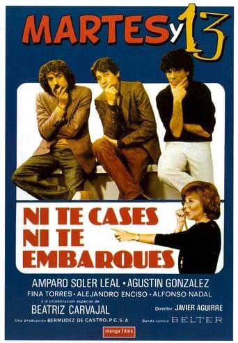 Poster of Ni te cases ni te embarques