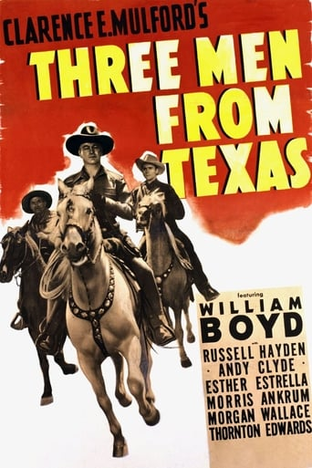 Poster of Three Men From Texas