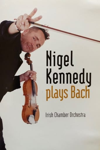Poster of Nigel Kennedy - Plays Bach