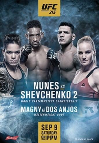 Poster of UFC 215: Nunes vs. Shevchenko 2