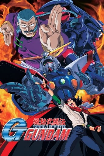 Poster of Mobile Fighter G Gundam