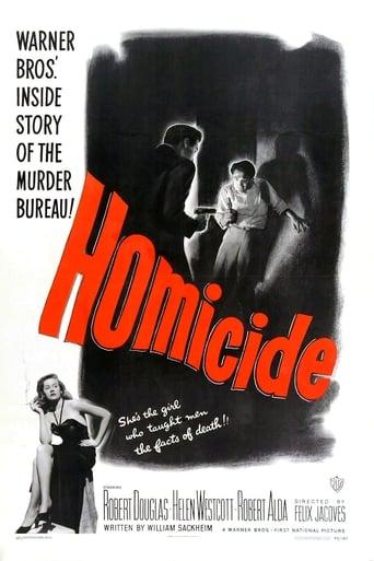 Homicide Movie Poster