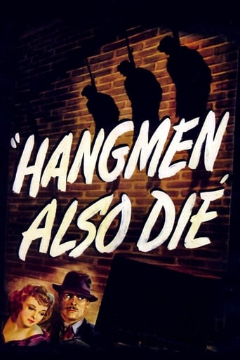 Poster of Hangmen Also Die!