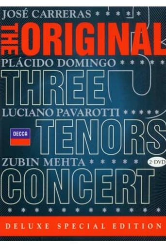 Poster of The Original Three Tenors Concert