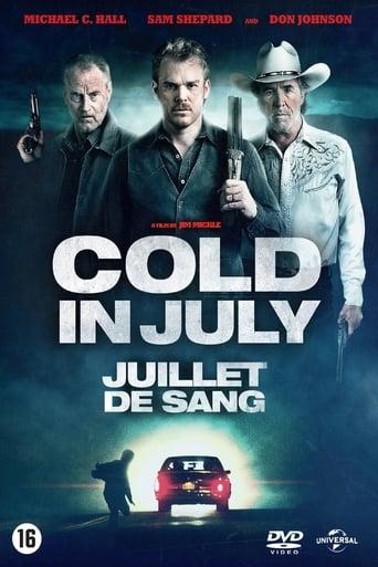 Poster of Cold in July: Juillet de sang
