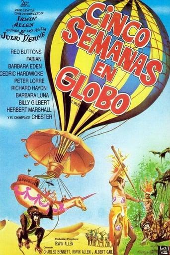 Poster of Cinco semanas en globo