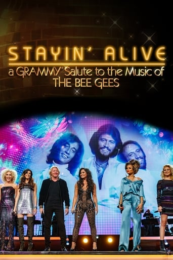 Poster of Stayin' Alive: A Grammy Salute to the Music of the Bee Gees