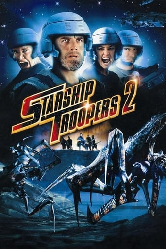 Poster of Starship Troopers 2: Hero of the Federation