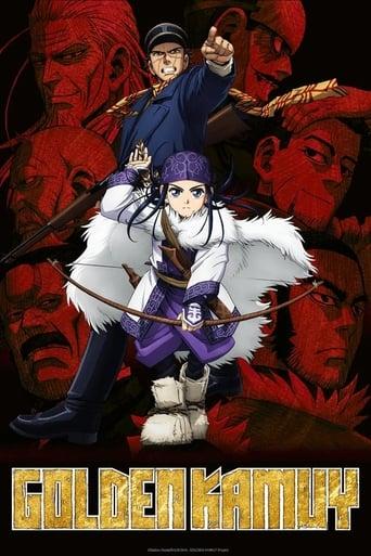 Golden Kamuy 1ª Temporada - Poster