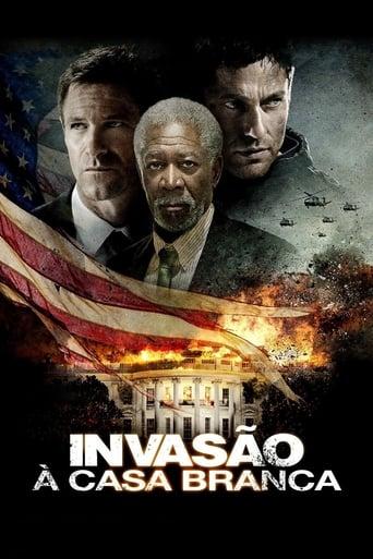 Invasão a Casa Branca - Poster