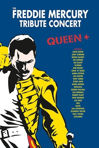 Poster of The Freddie Mercury Tribute Concert