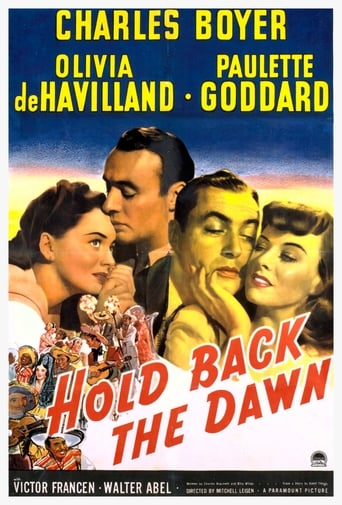 Poster of Hold Back the Dawn