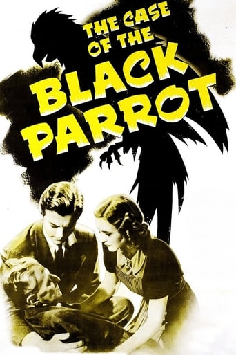 Poster of The Case of the Black Parrot