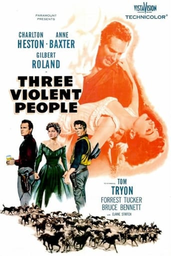 Poster of Three Violent People