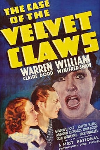 Poster of The Case of the Velvet Claws