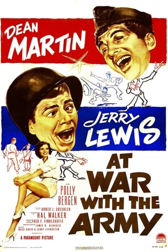 Poster of At War with the Army