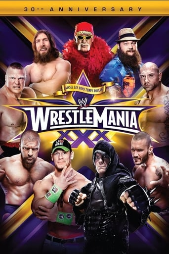 Poster of WWE WrestleMania XXX