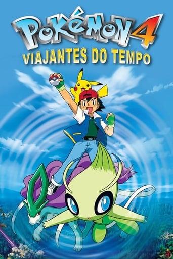Pokémon 4: Viajantes do Tempo - Poster