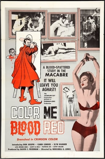 Color Me Blood Red (1965) - poster