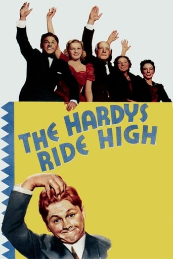 The Hardys Ride High movie poster