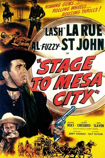 Poster of Stage to Mesa City