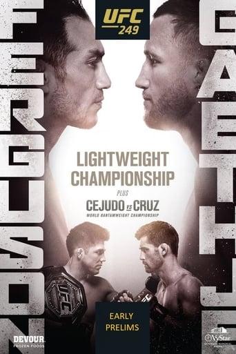 Poster of UFC 249: Ferguson vs. Gaethje - Early Prelims