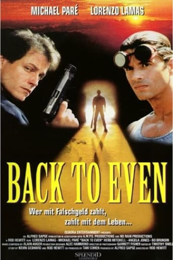 Poster of Back to Even
