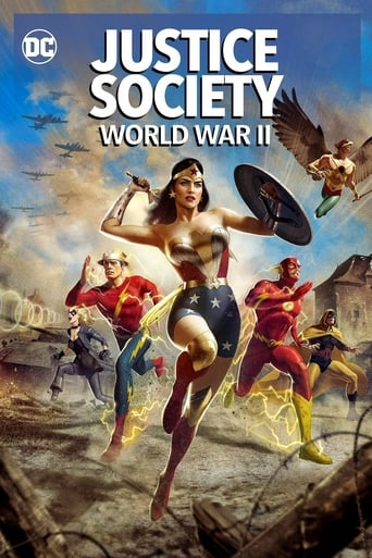 Poster Justice Society: World War II