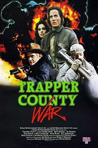 Poster of Trapper County War
