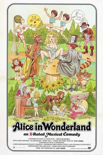 Poster of Alice in Wonderland: An X-Rated Musical Fantasy
