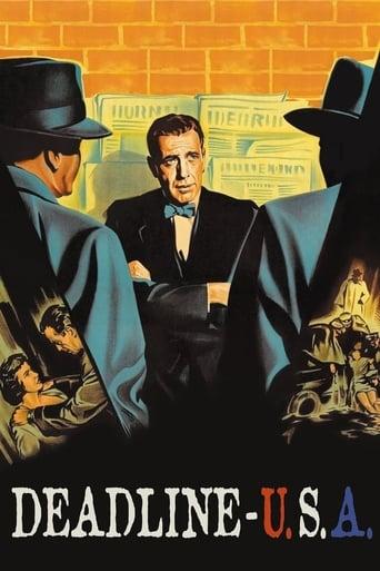 Deadline - U.S.A. (1952) - poster