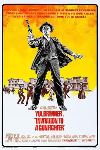 Poster of Invitation to a Gunfighter